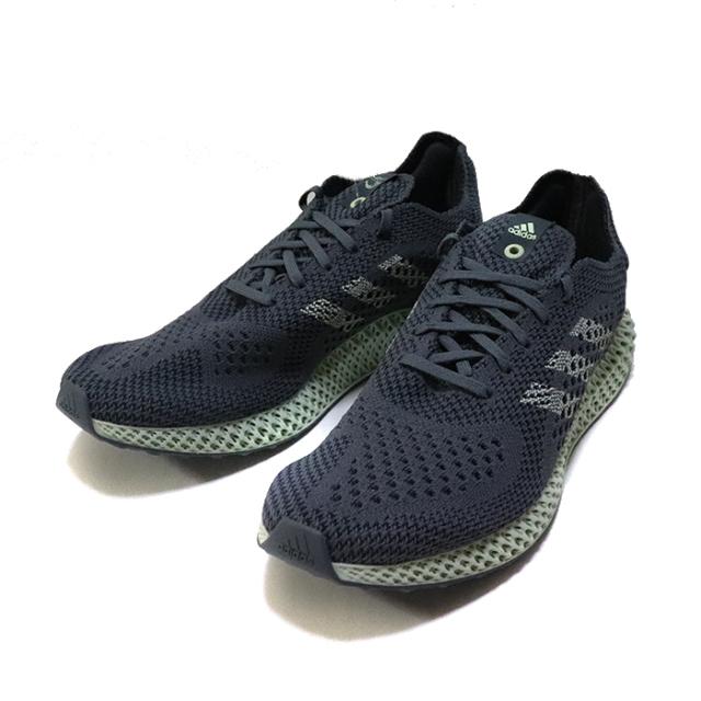 正規品 adidas CONSORTIUM RUNNER 4D Onix/Aero Green/Night Grey 新品未使用品 [ アディダス コンソーシアム ランナー 4ディー グレー 灰 ]