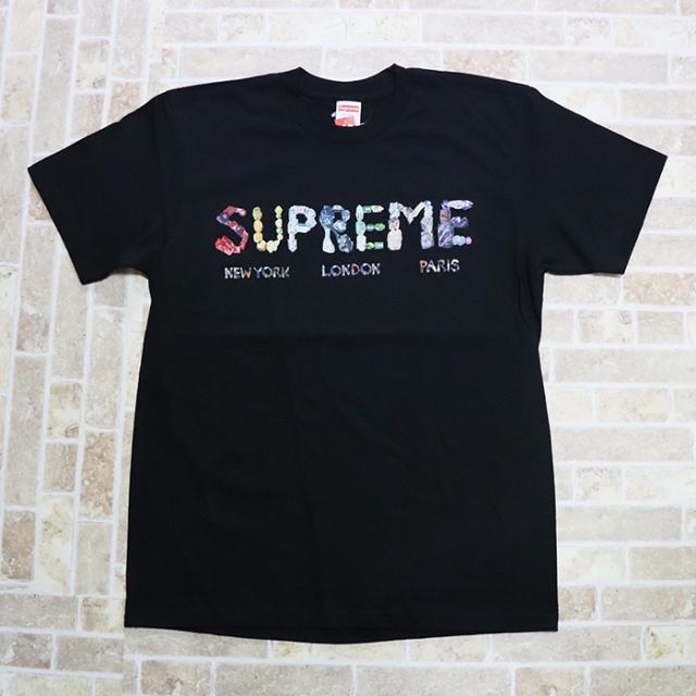 国内正規品 2018SS Supreme Rocks Tee Black 新品未使用品 [ シュプリーム ロックス Tシャツ ブラック 黒 ]