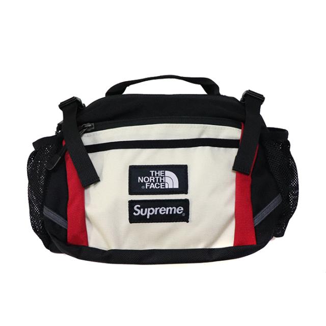 国内正規品 2018AW Supreme × The North Face Expedition Waist Bag White 新品未使用品 [ シュプリーム ノースフェイス エクスペディション ウエストバッグ ホワイト 白 ]