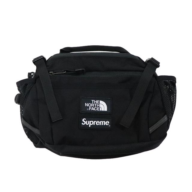 国内正規品 2018AW Supreme × The North Face Expedition Waist Bag Black 新品未使用品 [ シュプリーム ノースフェイス エクスペディション ウエストバッグ ブラック 黒 ]