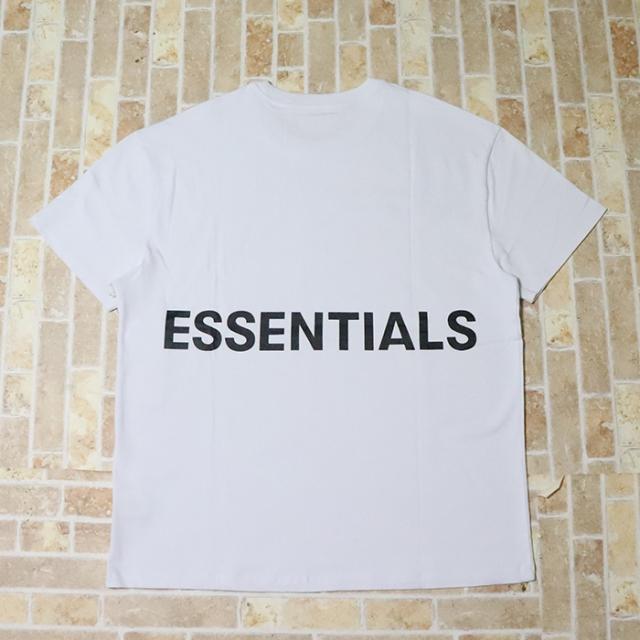 国内正規品 FOG Fear Of God Essentials Boxy Graphic T-Shirt White 新品未使用品 [ フィアオブゴッド エッセンシャルズ Tシャツ ホワイト 白 ]