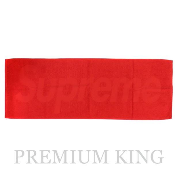 国内正規品 2017SS Supreme Terry Logo Hand Towel 新品未使用品 [ シュプリーム テリー ロゴ ハンド タオル レッド 赤 ]