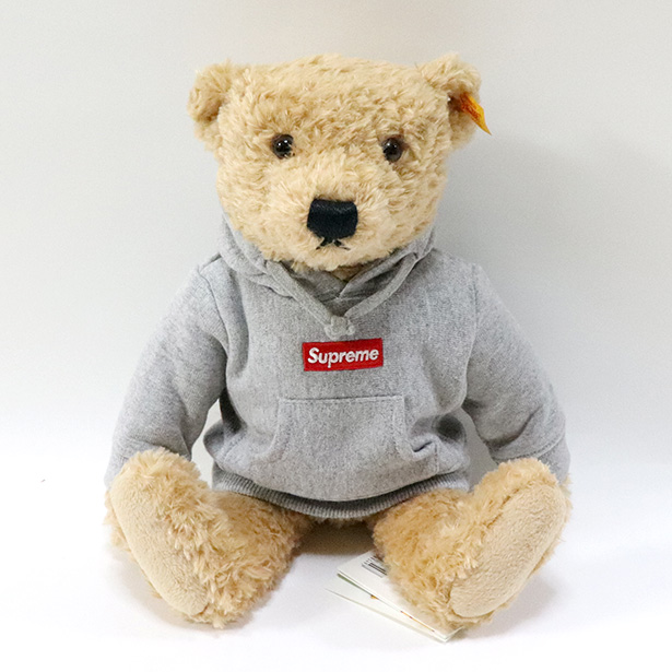 国内正規品 2018AW Supreme x Steiff Bear 新品未使用品 [ シュプリーム シュタイフ テディベア ]