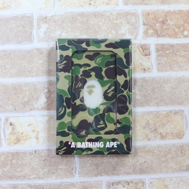 国内正規品 A BATHING APE BAPE ABC POWER BANK GREEN 1E20182201 新品未使用品 [ ベイシングエイプ ベイプ エービーシー パワー バンク モバイル バッテリー 充電器 グリーン 緑 ]