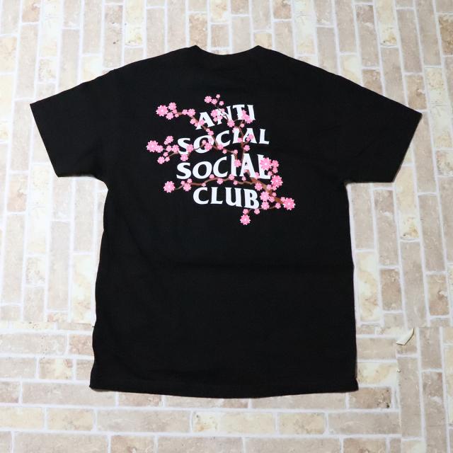 正規品 Anti Social Social Club Cherry Blossom Tee Black 新品未使用品  [ アンチ ソーシャル ソーシャル クラブ ASSC チェリー ブロッサム Tシャツ ブラック 黒 ]