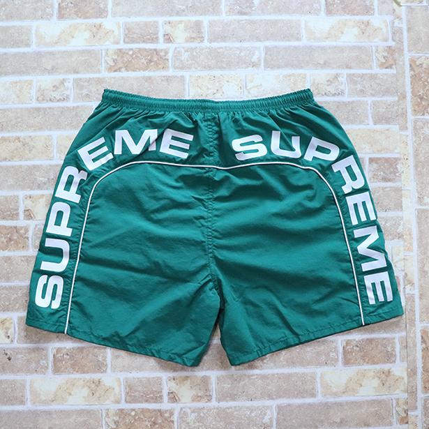 国内正規品 2018SS Supreme Arc Logo Water Short Green 新品未使用品 [ シュプリーム アーチ ロゴ ウォーター ショーツ グリーン ]
