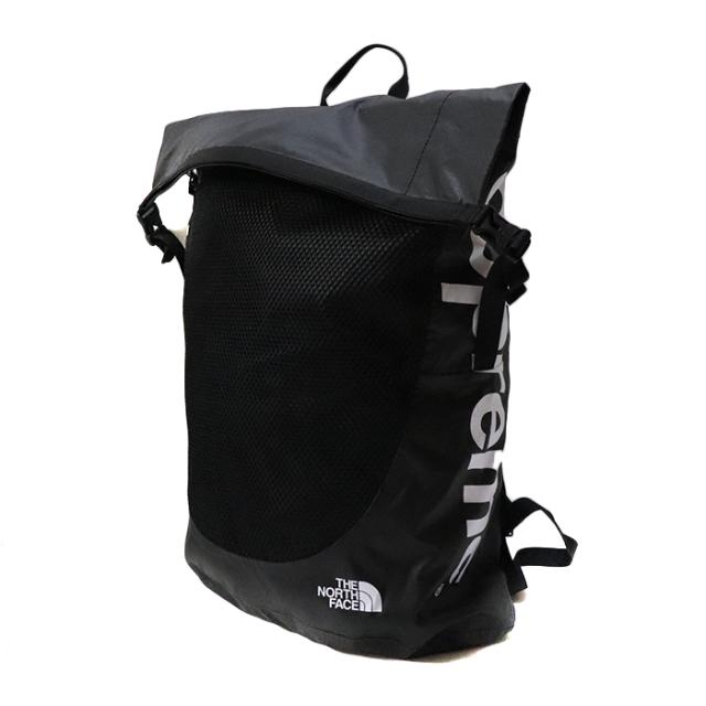 国内正規品 2017SS Supreme x The North Face Waterproof Backpack Black 新品未使用品  [ シュプリーム ノースフェイス ウォーター プルーフ バックパック 防水 ブラック 黒 ]