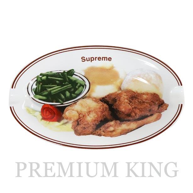 国内正規品 2018SS Supreme Chicken Dinner Plate Ashtray White 中古美品 [ シュプリーム チキン ディナー プレート アシュトレー ホワイト]