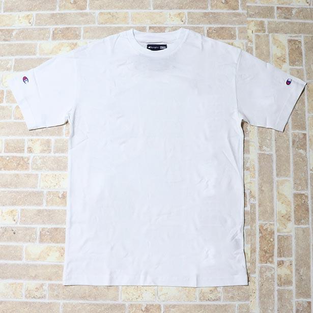 正規品  2018SS KITH x CHAMPION C PATCH TEE WHITE 新品未使用品 [ キース チャンピオン Cパッチ Tシャツ ホワイト 白 ]