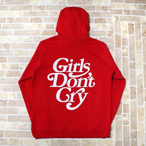 国内正規品 2019SS Girls Don't Cry x NIKE SB Hoodie Red 新品未使用品 [ ガールズ ドント クライ ナイキ フーディー パーカー レッド 赤 ]