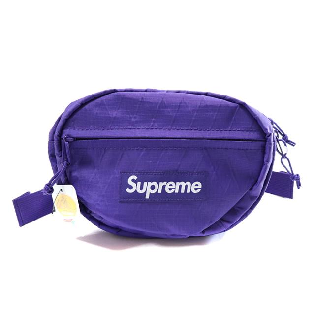 国内正規品 2018AW Supreme Waist Bag Purple 新品未使用品 [ シュプリーム ウェスト バッグ パープル 紫 ]