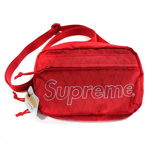 国内正規品 2018AW Supreme Shoulder Bag Red 新品未使用品 [ シュプリーム ショルダー バッグ レッド 赤 ]