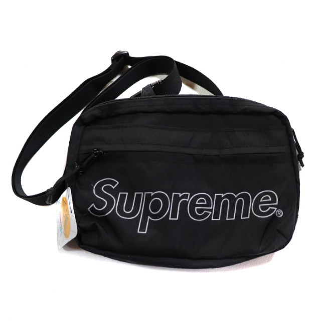 国内正規品 2018AW Supreme Shoulder Bag Black 新品未使用品 [ シュプリーム ショルダー バッグ ブラック 黒 ]