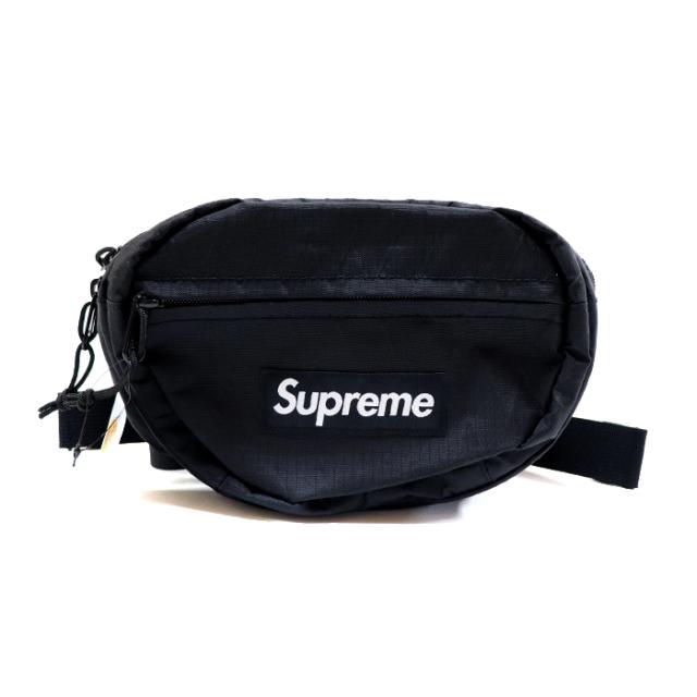 国内正規品 2018AW Supreme Waist Bag Black 新品未使用品 [ シュプリーム ウェスト バッグ ブラック 黒 ]