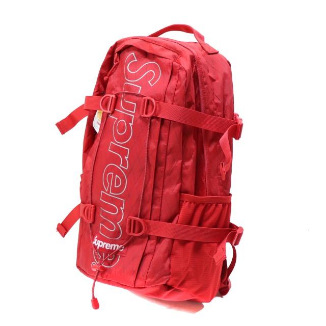 国内正規品 2018AW Supreme Backpack Red 新品未使用品 [ シュプリーム バックパック レッド 赤 ]