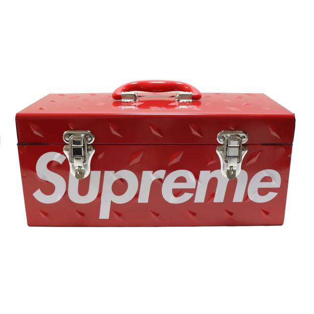 国内正規品 2018AW Supreme Diamond Plate Tool Box Red 新品未使用品 [ シュプリーム ダイヤモンド プレート ツール ボックス レッド 赤 ]