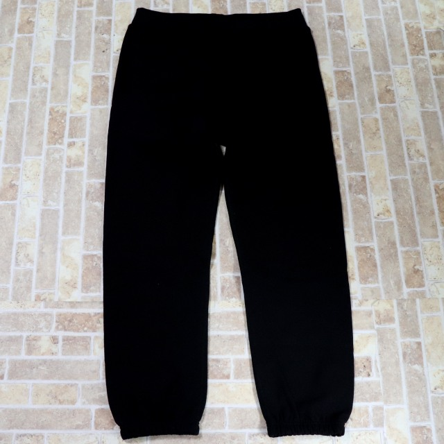国内正規品 2017AW Supreme Corner Label Sweatpant Black 新品同様品 [ シュプリーム コーナー ラベル スウェット パンツ ブラック 黒 ]