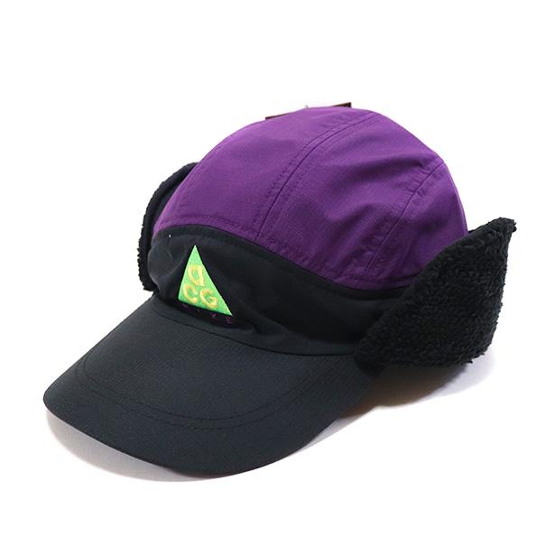 国内正規品 2018AW NIKE NSW TAILWIND CAP ACG SHERPA BLACK/NIGHT PURPLE/BLACK 新品未使用品 [ ナイキ エーシージー テイルウィンド キャップ エーシージー シェルパ パープル 紫 ]