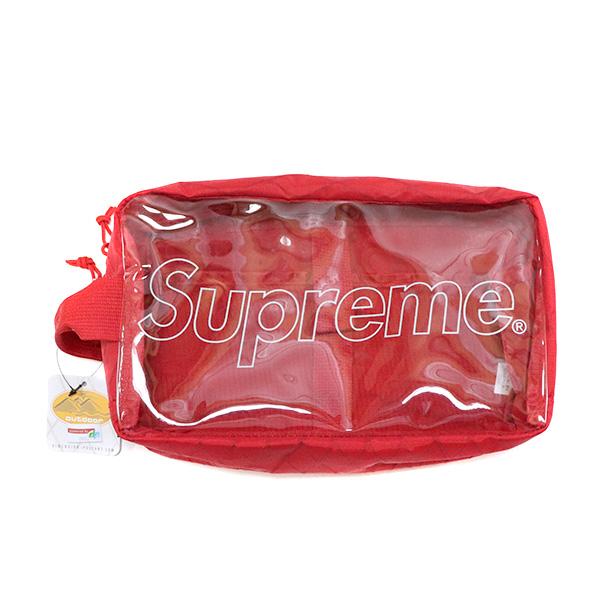 国内正規品 2018AW Supreme Utility Bag Red 新品未使用品 [ シュプリーム ユーティリティー バッグ レッド 赤 ]