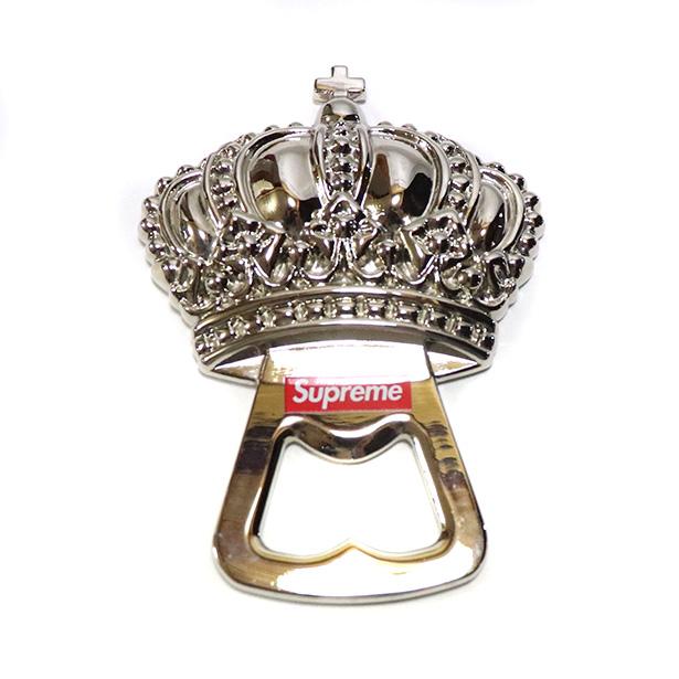 国内正規品 2013SS Supreme Crown Opener Silver 新品未使用品 [ シュプリーム クラウン オープナー シルバー 銀 ]