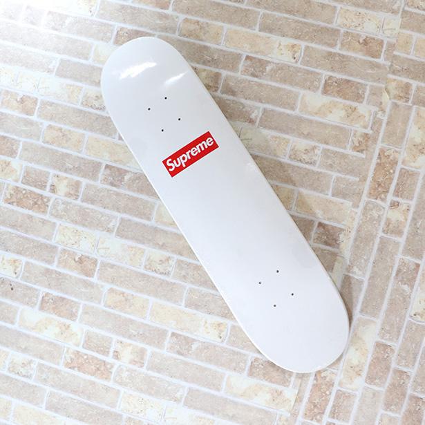 国内正規品 2014SS Supreme 20th Anniversary Box Logo Skateboard White 新品未使用品 [ シュプリーム 20周年 アニバーサリー ボックス ロゴ スケートボード デッキ ホワイト 白 ]