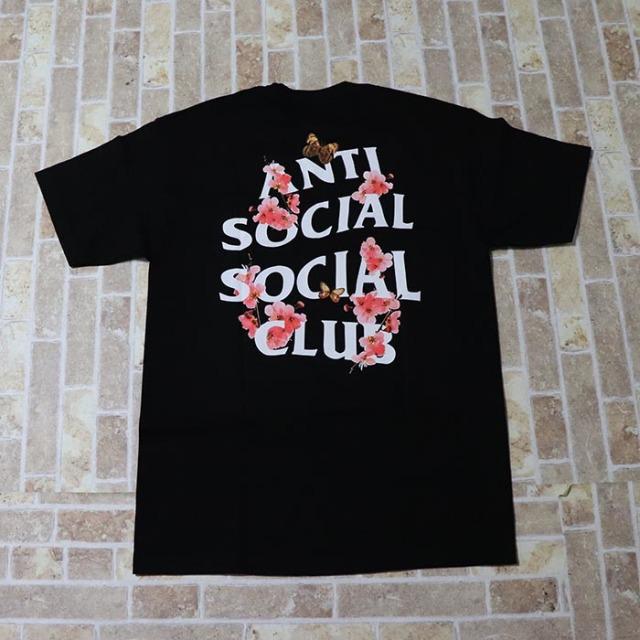 正規品 Anti Social Social Club Kkoch Tee Black 新品未使用品 [ アンチソーシャルソーシャルクラブ ASSC コーク Tシャツ ブラック 黒 ]