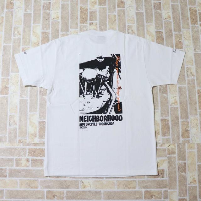 国内正規品 2004 NEIGHBORHOOD TEE SS WHITE 新品未使用品 [ ネイバーフッド  Tシャツ ショートスリーブ ホワイト 白 ]