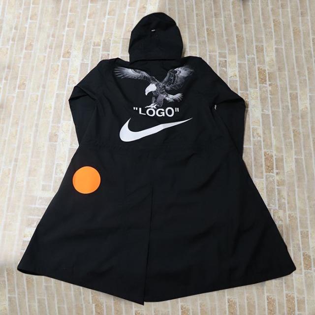 国内正規品 2018SS Off-White x Nike Mercurial NRG X Jacket Black AA3256-010 新品未使用品 [ オフホワイト ナイキ  マーキュリアル ジャケット ブラック 黒 ]
