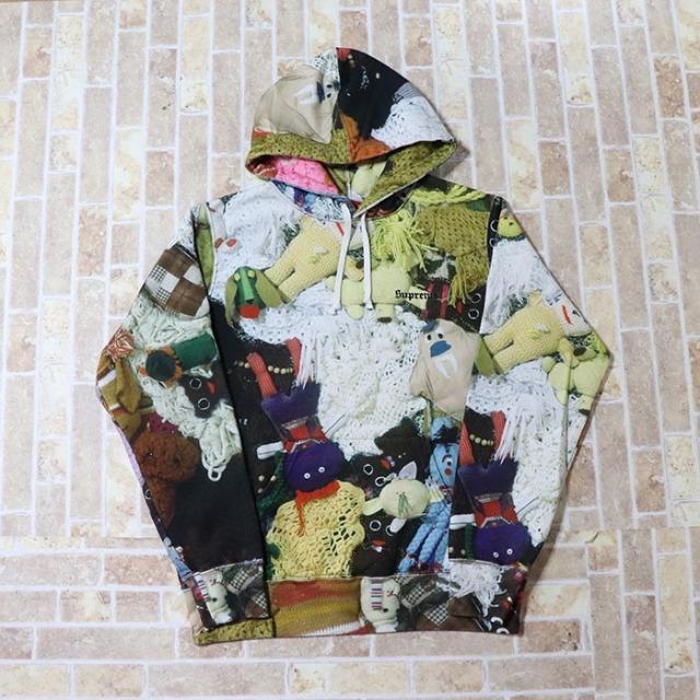 国内正規品 2018AW Supreme Mike Kelly More Love Hours Than Can Ever Be Repaid Hooded Sweatshirt Multicolor 新品未使用品 [ シュプリーム マイク ケリー フーディー マルチカラー ]