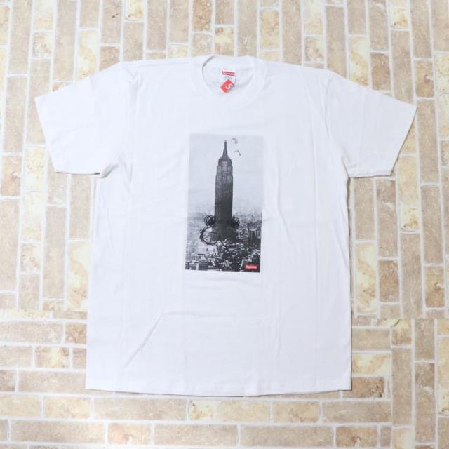 国内正規品 2018AW Supreme Mike Kelly The Empire State Building Tee White 新品未使用品 [ シュプリーム マイク ケリー エンパイア ステイト ビルディング Tシャツ ホワイト 白 ]
