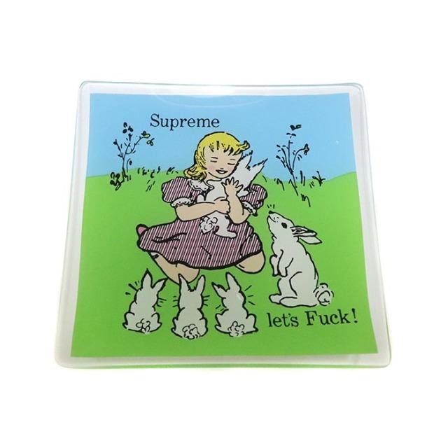国内正規品 2016AW Supreme  Let's Fuck Glass Ashtray Multi 新品未使用品 [ シュプリーム レッツ ファック グラス アッシュトレー  小物置き 灰皿 マルチ ]