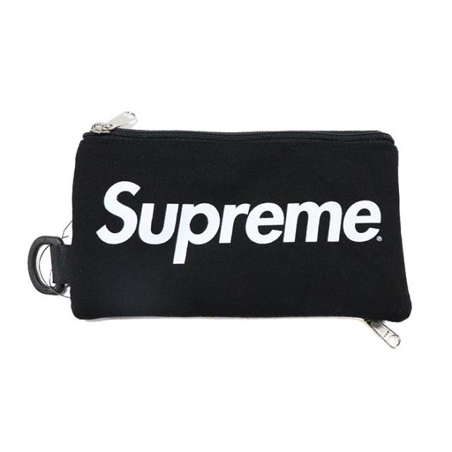国内正規品 2016AW Supreme Mobile Pouch Black 新品未使用品 [ シュプリーム モバイルポーチ ブラック 黒 ]