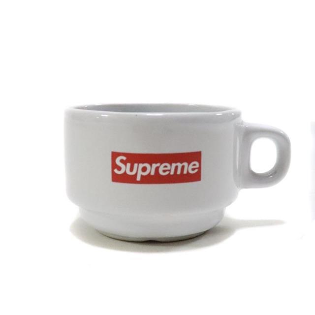 国内正規品 2014AW Supreme Espresso Cup White 新品未使用品 [ シュプリーム エスプレッソ カップ ホワイト ]
