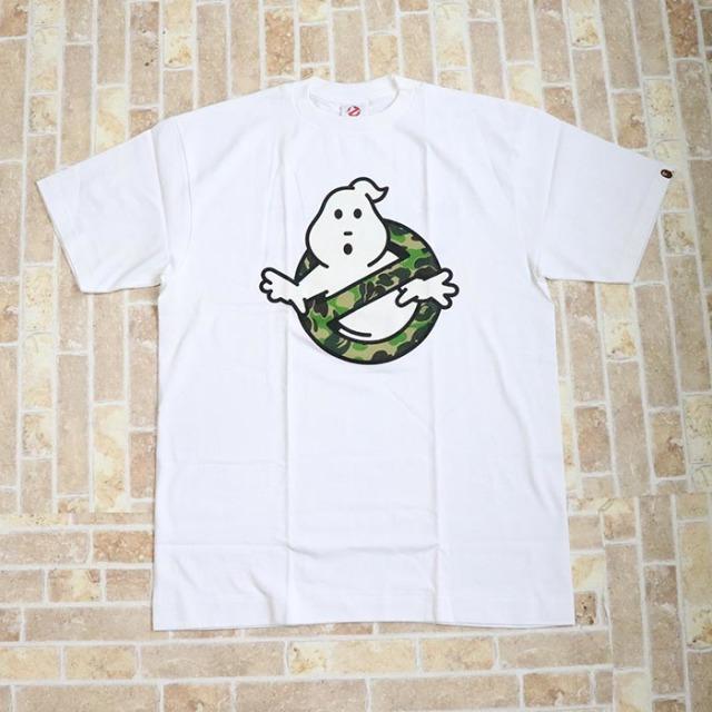 国内正規品 A BATHING APE BAPE Ghostbusters Tee WHITE 新品未使用品 [ ベイシングエイプ ベイプ ゴーストバスターズ Tシャツ ホワイト 白 ]