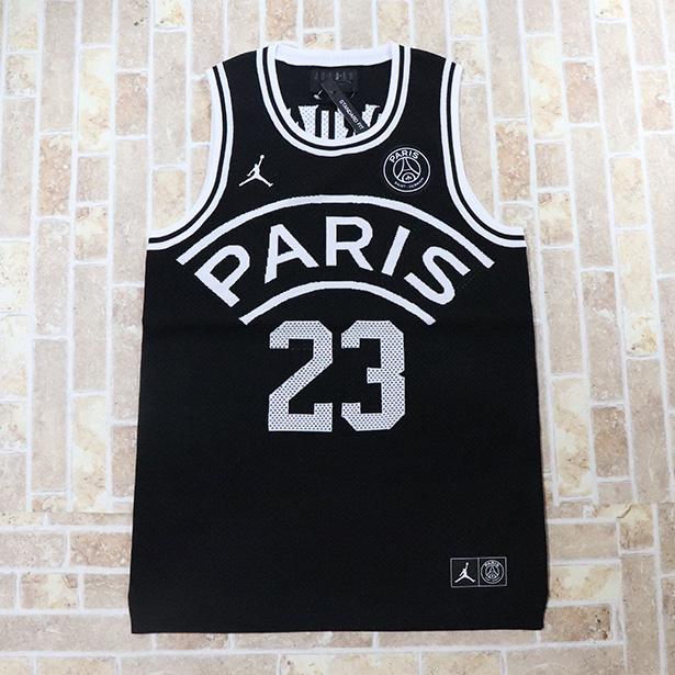 国内正規品 2018/19 NIKE Paris Saint-Germain Flight Knit 23 Jersey Black 新品未使用品 [ ナイキ パリ・サンジェルマン フライト ニット ジャージ ブラック 黒 ]