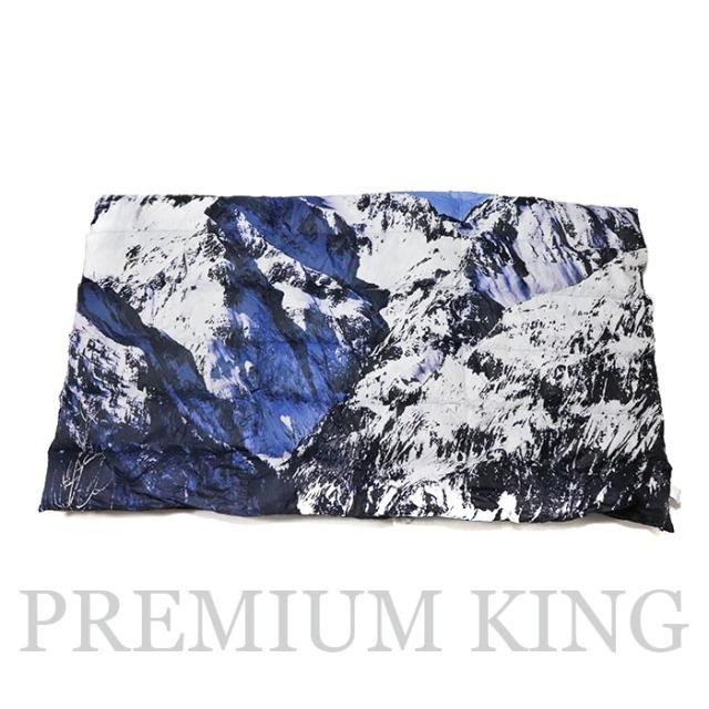 正規品 2017AW SUPREME × THE NORTH FACE Mountain Nuptse Blanket 新品同様品 [シュプリーム ノースフェイス マウンテン ヌプシ ブランケット ]