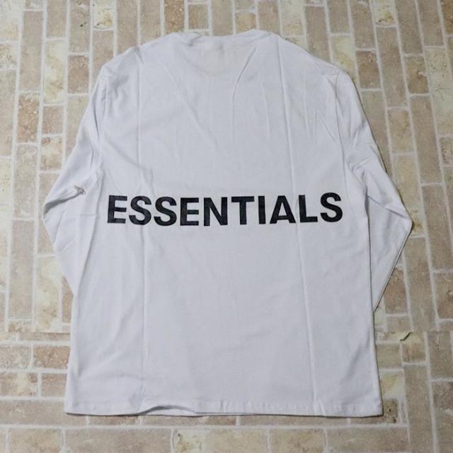 国内正規品 FOG Fear of god Essentials Boxy Graphic Long Sleeve T-Shirt WHITE 新品未使用品 [ フィアオブゴッド Tシャツ ホワイト ]