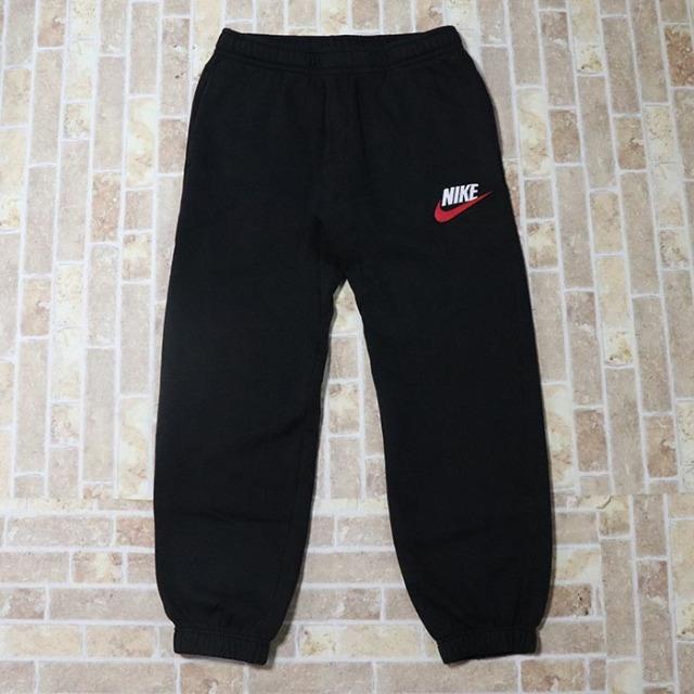 国内正規品 2018AW Supreme × NIKE Sweatpant Black 新品未使用品 [ シュプリーム ナイキ スウェットパンツ ブラック 黒 ]