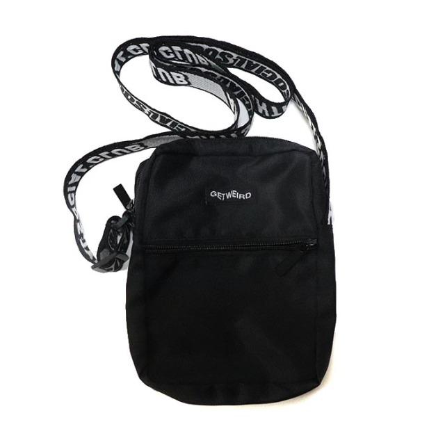 正規品 2018AW ANTI SOCIAL SOCIAL CLUB SIDE BAG BLACK 新品未使用品 [ アンチ ソーシャル ソーシャル クラブ サイド バッグ ブラック 黒 ショルダー バッグ  ]