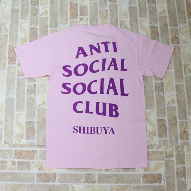 正規品 2018 Anti Social Social Club Shibuya Pink Tee 新品未使用品 [ アンチ ソーシャル ソーシャル クラブASSC 渋谷 ピンク Tシャツ ]