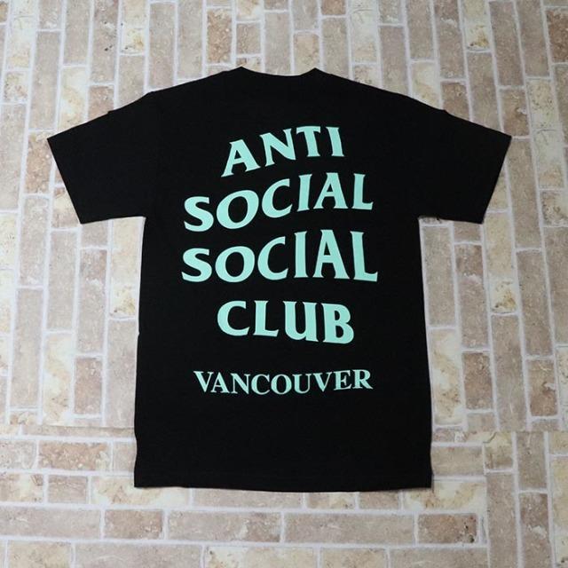 正規品 2018 Anti Social Social Club Vancouver Black Tee 新品未使用品 [ アンチ ソーシャル ソーシャル クラブ ASSC バンクーバー ブラック Tシャツ ]