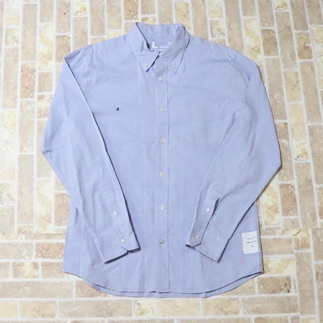 正規品 DENIM BY VANQUISH&FRAGMENT Button Shirt Light Blue 美中古品 [ デニムバイヴァンキッシュ&フラグメント ボタンシャツ ライトブルー 青 水色 ]