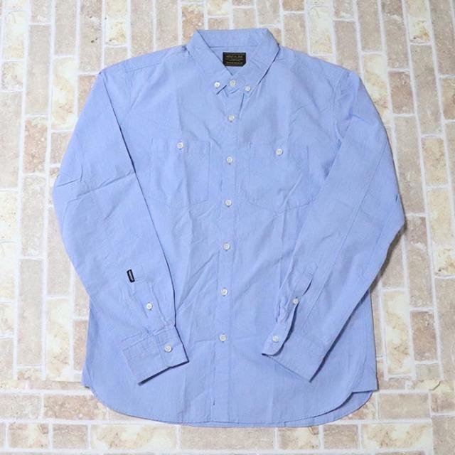 正規品 2013SS NEIGHBORHOOD Shirt Light Blue 美中古品 [ ネイバーフッド シャツ ライトブルー 青 水色 ]