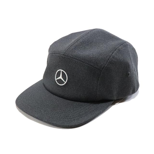 国内正規品 2018AW Mercedes-Benz × BEAMS Cap Charcoal 新品未使用品 [ メルセデス ベンツ ビームス キャップ チャコール グレー 灰 ]