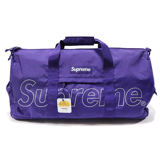国内正規品 2018AW Supreme Duffle Bag Purple 新品未使用品 [ シュプリーム ダッフル バッグ パープル 紫 ]