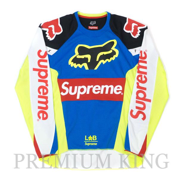 国内正規品 2018SS Supreme Fox Racing Moto Jersey Top Multi 新品未使用品 [ シュプリーム フォックスレーシング モト ジャージ トップ マルチ ]