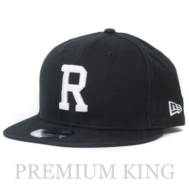 国内正規品 2018SS Ron Herman NEW ERA for RHC CAP Black 新品未使用品 [ ロンハーマン ニューエラ Rロゴ キャップ ブラック ]
