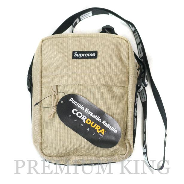 国内正規品 2018SS Supreme 1050D Cordura ripstop nylon Shoulder Bag Tan 新品未使用品 [ シュプリーム コーデュラ リップストップ ナイロン ショルダー バッグ タン ベージュ ]