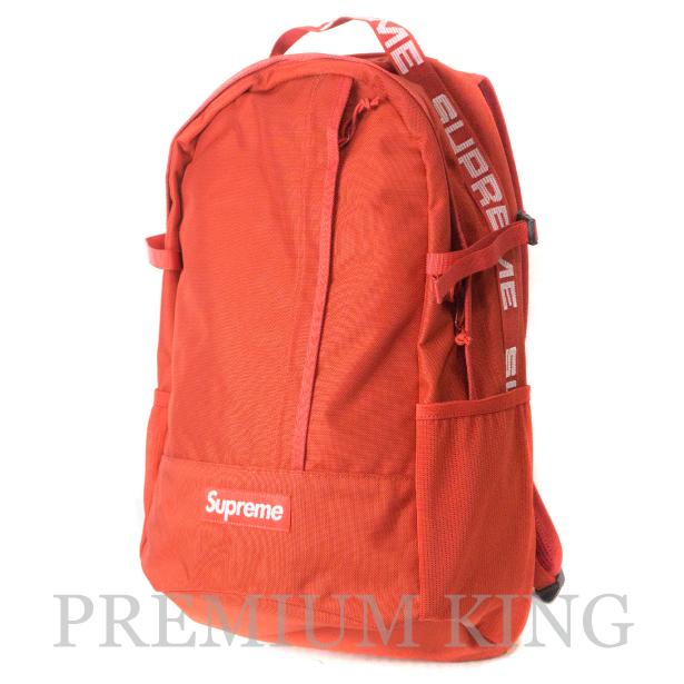 国内正規品 2018SS Supreme 1050D Cordura ripstop nylon Backpack Red 新品未使用品 [ シュプリーム コーデュラ リップストップ ナイロン バックパック レッド 赤 ]