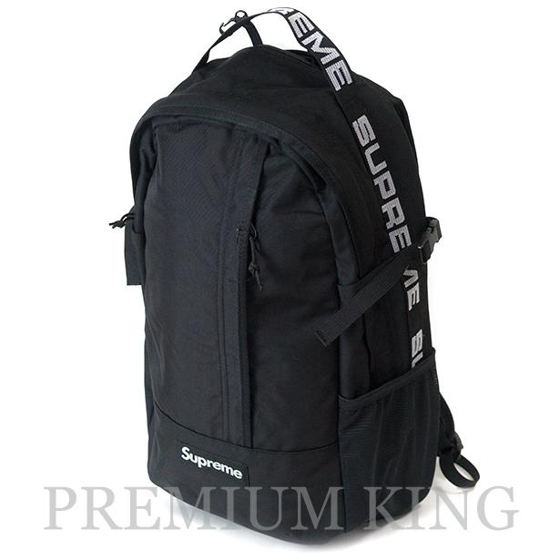 国内正規品 2018SS Supreme 1050D Cordura ripstop nylon Backpack Black 新品未使用品 [ シュプリーム コーデュラ リップストップ ナイロン バックパック ブラック 黒 ]